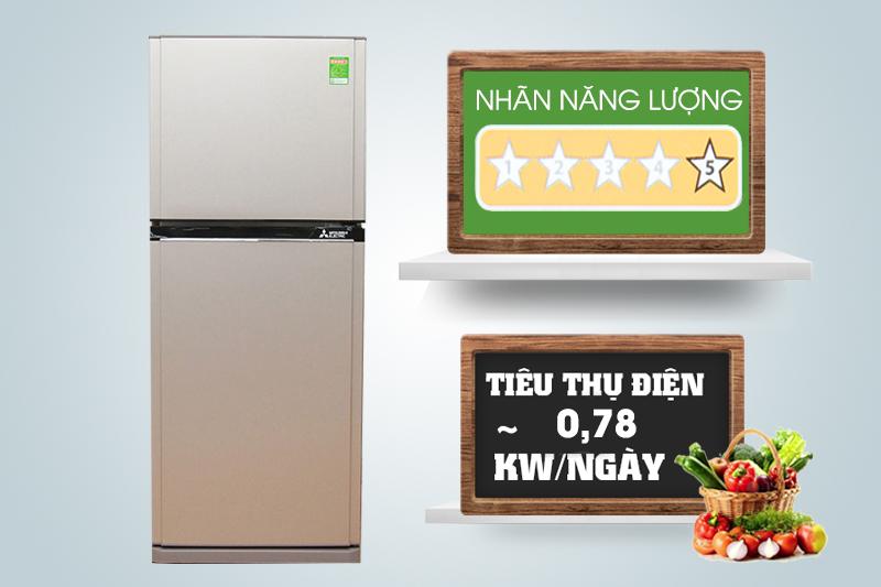 Mỗi ngày, chiếc tủ lạnh này sẽ tiêu hao khoảng 0.78 kW điện