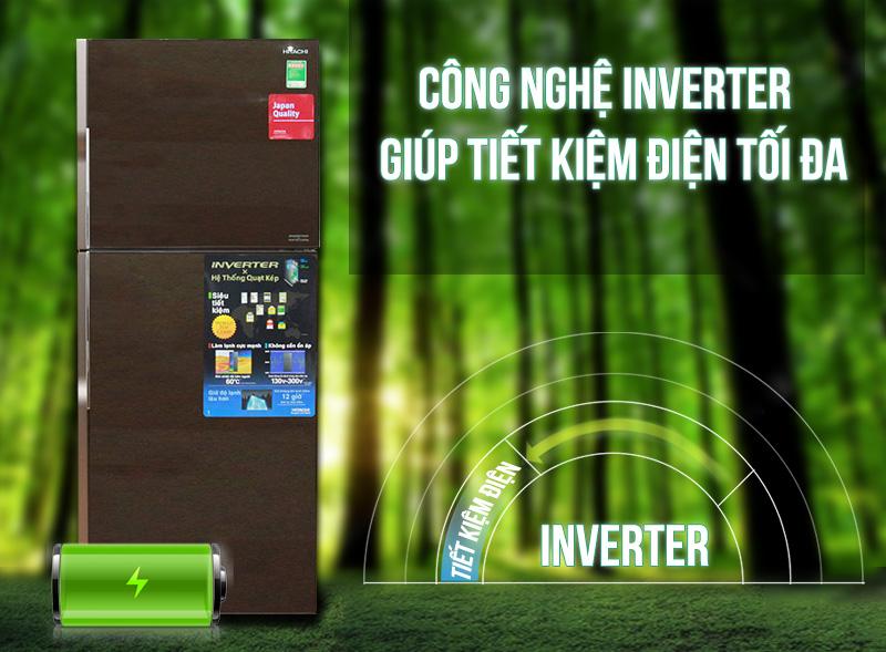 Công nghệ máy nén Inverter giúp tiết kiệm điện năng mạnh mẽ