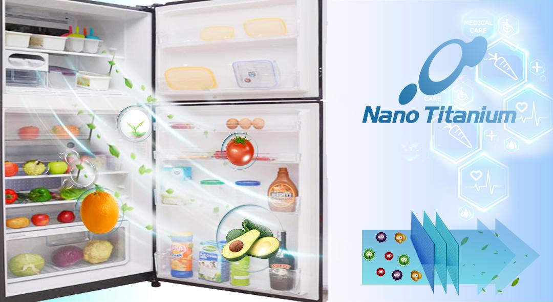 Màng lọc Nano Titanium bảo quản thực phẩm khỏi vi khuẩn