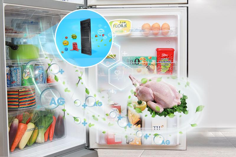 Thực phẩm được tươi ngon nhờ Nano Fresh Ag+