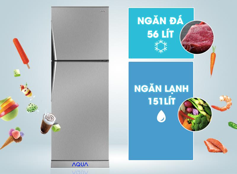 Tủ lạnh ngăn đá trên nhỏ gọn