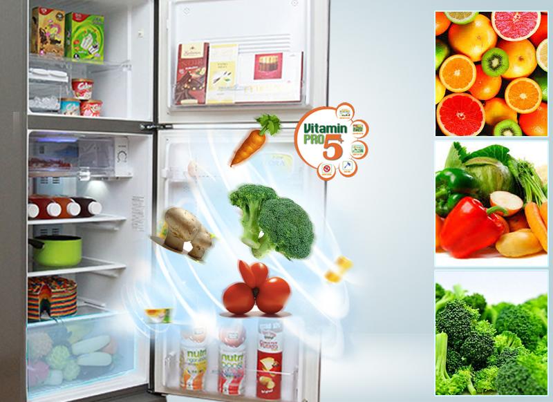 Cung cấp Vitamin C cho rau củ tươi lâu