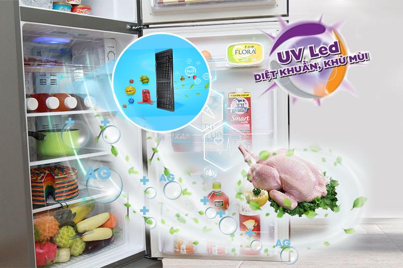 Bảo vệ thực phẩm cao với tính năng UV LED và công nghệ Nano Fresh Ag+