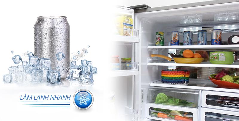 Làm lạnh thực phẩm nhanh chóng