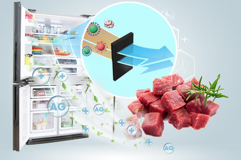 Bộ khử mùi Nano Bạc Đồng loại bỏ vi khuẩn, mùi hôi triệt để