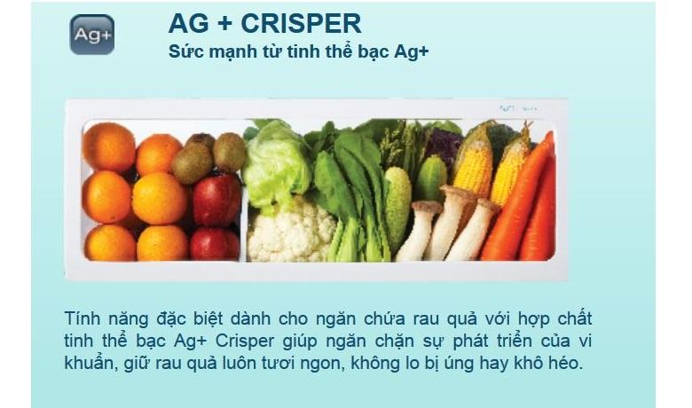Tinh thể bạc cùng công nghệ của hợp chất Ag+ Crisper mang đến cho rau củ xanh một sức sống mới