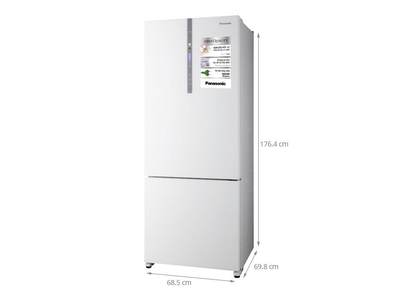 Thông số kỹ thuật Tủ lạnh Panasonic 405 lít NR-BX468GWVN