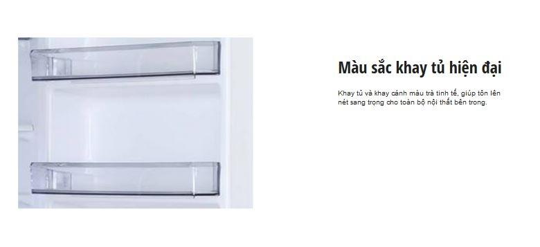 Tủ lạnh Panasonic NR-BL307XNVN – Thiết kế các khay tủ hiện đại và trang nhã