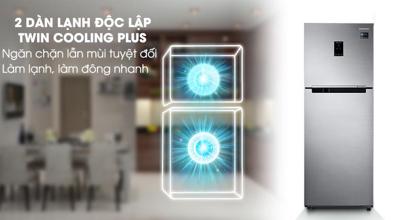 Twin Cooling Plus - Tủ lạnh Samsung Inverter 299 lít RT29K5532S8/SV
