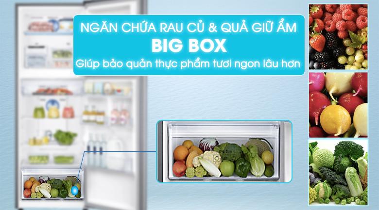 Big Box - Tủ lạnh Samsung Inverter 299 lít RT29K5532S8/SV