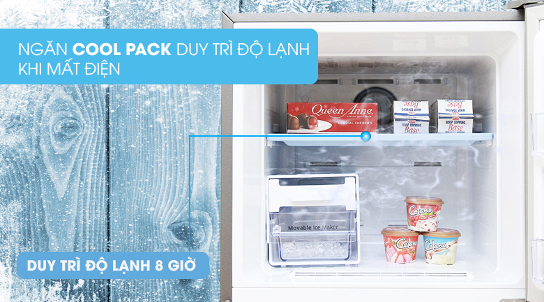 Ngăn Cool Pack - Tủ lạnh Samsung Inverter 320 lít RT32K5532S8/SV