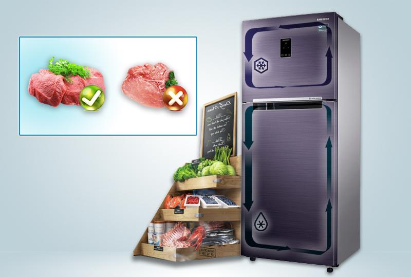 Công nghệ 2 dàn lạnh độc lập Twin Cooling Plus hiện đại