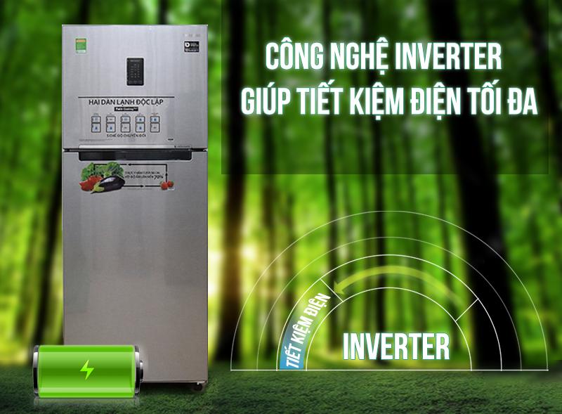 Công nghệ Digital Inverter tiết kiệm năng lượng, vận hành êm ái