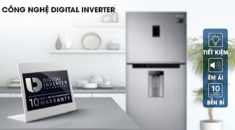 Công nghệ Digital Inverter hiện đại - Tủ lạnh Samsung Inverter 380 lít RT38K5982SL/SV