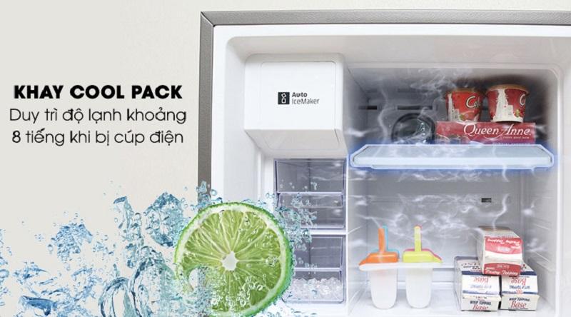 Ngăn giữ lạnh Cool Pack khi mất điện - Tủ lạnh Samsung Inverter 380 lít RT38K5982SL/SV