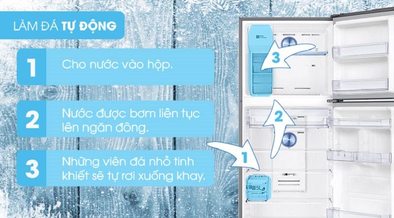 Khả năng tự động làm đá - Tủ lạnh Samsung Inverter 380 lít RT38K5982SL/SV