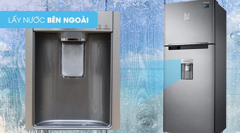 Cấp nước ngoài - Tủ lạnh Samsung Inverter 451 lít RT46K6836SL/SV