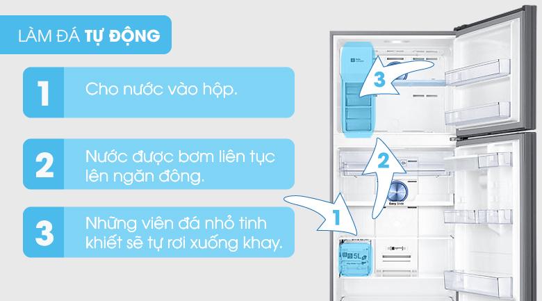 Làm đá tự động - Tủ lạnh Samsung Inverter 451 lít RT46K6836SL/SV