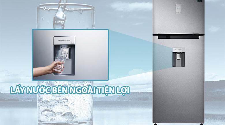 Lấy nước bên ngoài - Tủ lạnh Samsung Inverter 442 lít RT43K6631SL/SV