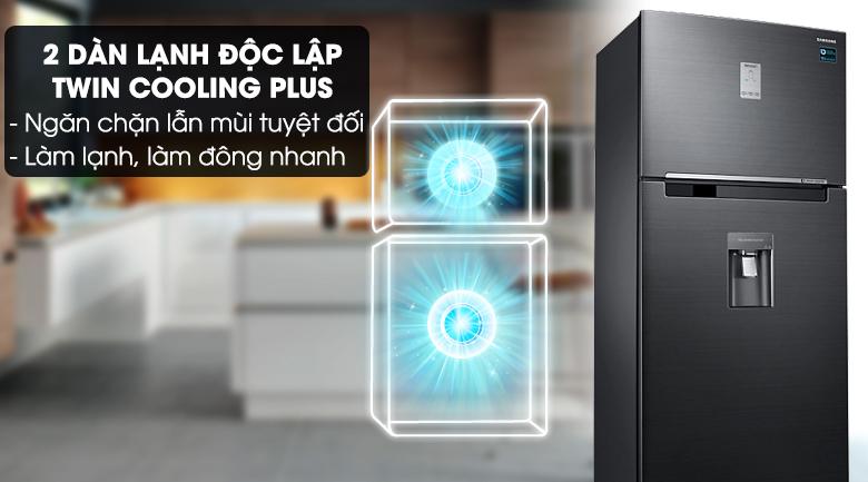 Công nghệ Twin Cooling Plus - Tủ lạnh Samsung Inverter 502 lít RT50K6631BS/SV