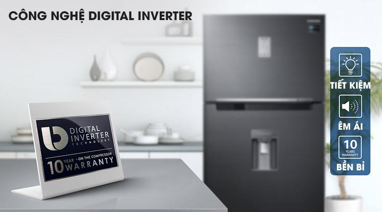 Công nghệ Inverter - Tủ lạnh Samsung Inverter 502 lít RT50K6631BS/SV