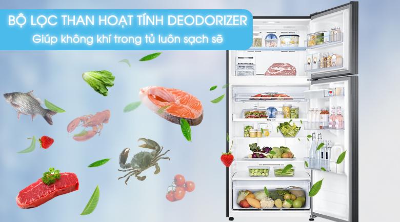 Bộ lọc than hoạt tính - Tủ lạnh Samsung Inverter 502 lít RT50K6631BS/SV