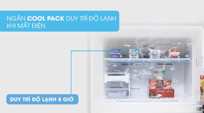 Ngăn Cool Pack duy trì độ lạnh ngăn đá khi cúp điện - Tủ lạnh Samsung Inverter 502 lít RT50K6631BS/SV