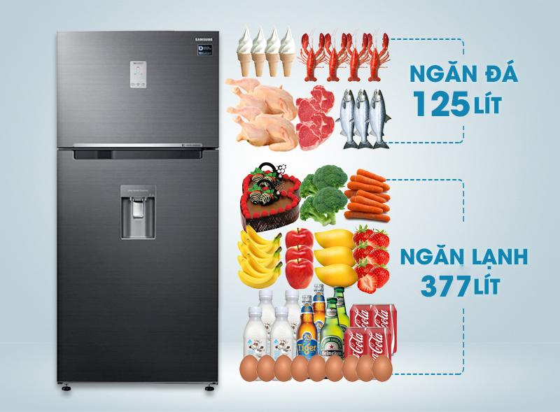 Tủ lạnh Samsung RT50K6631BS/SV