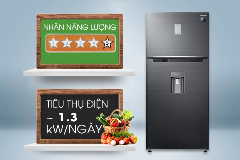 Nhờ điều đó, chiếc tủ lạnh này chỉ tiêu tốn khoảng 1.3 kW điện mỗi ngày
