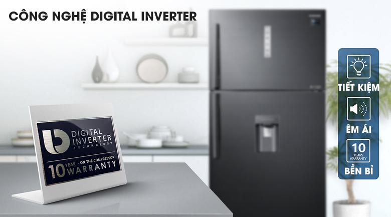 Công nghệ Digital Inverter - Tủ lạnh Samsung Inverter 586 lít RT58K7100BS/SV