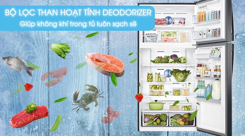 Bộ lọc than hoạt tín - Tủ lạnh Samsung Inverter 586 lít RT58K7100BS/SV