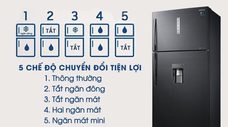 Chuyển đổi 5 chế độ - Tủ lạnh Samsung Inverter 586 lít RT58K7100BS/SV