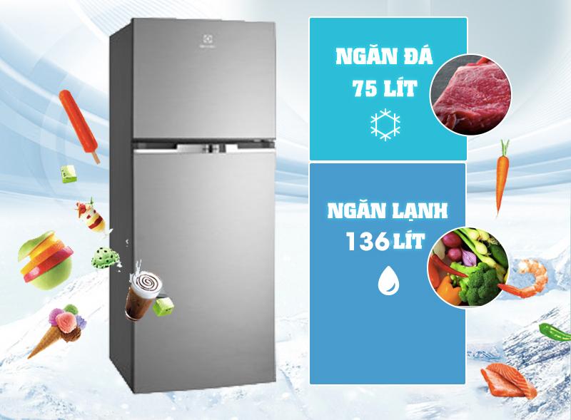 Tủ lạnh Electrolux ETB2100MG