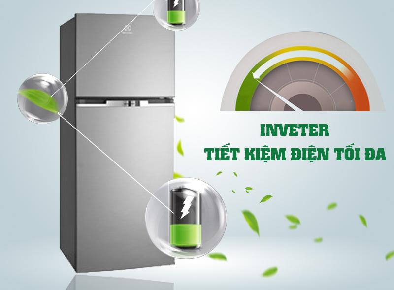 Với công nghệ NutriFresh Inverter, tủ lạnh Electrolux ETB2600MG có thể làm lạnh ổn định và nhanh chóng