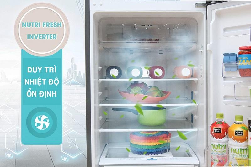 NutriFresh Inverter là công nghệ giúp duy trì nhiệt độ trong tủ lạnh