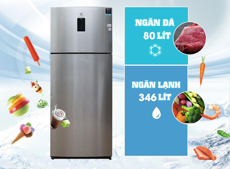 Tủ lạnh Electrolux 460 lít ETB4602AA