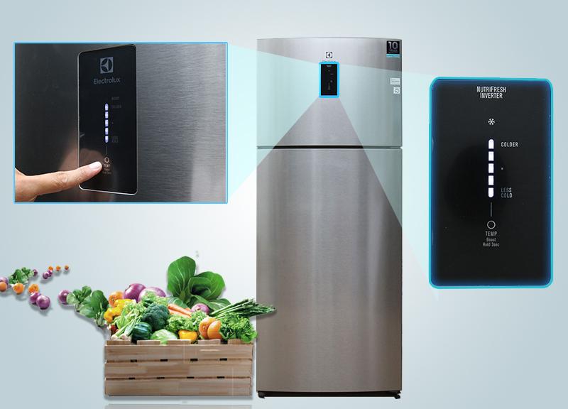 Bên cạnh đó, bảng điều khiển bên ngoài sẽ giúp cho người dùng dễ dàng tùy chỉnh nhiệt độ