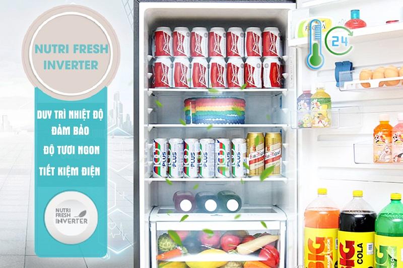 Hệ thống NutriFresh Inverter của tủ lạnh Electrolux EBE3500AG không chỉ giúp tiết kiệm điện đến 37%