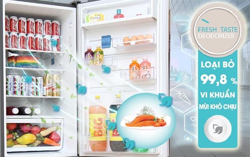 Tủ lạnh Electrolux EBE3500AG có công nghệ FreshTaste