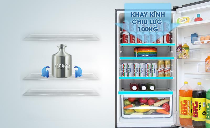 Với bảng điều khiển FreshLogic, bạn không chỉ dễ dàng điều chỉnh nhiệt độ tủ ở bên ngoài mà còn có thể xác định ngày nghỉ, ướp lạnh thức uống,…
