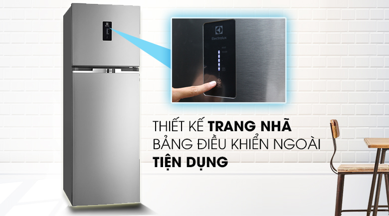 Tủ lạnh Electrolux Inverter 349 lít ETE3500AG