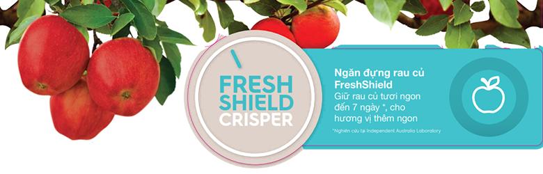 Ngăn rau củ Fresh Shield giữ độ ẩm tốt hơn