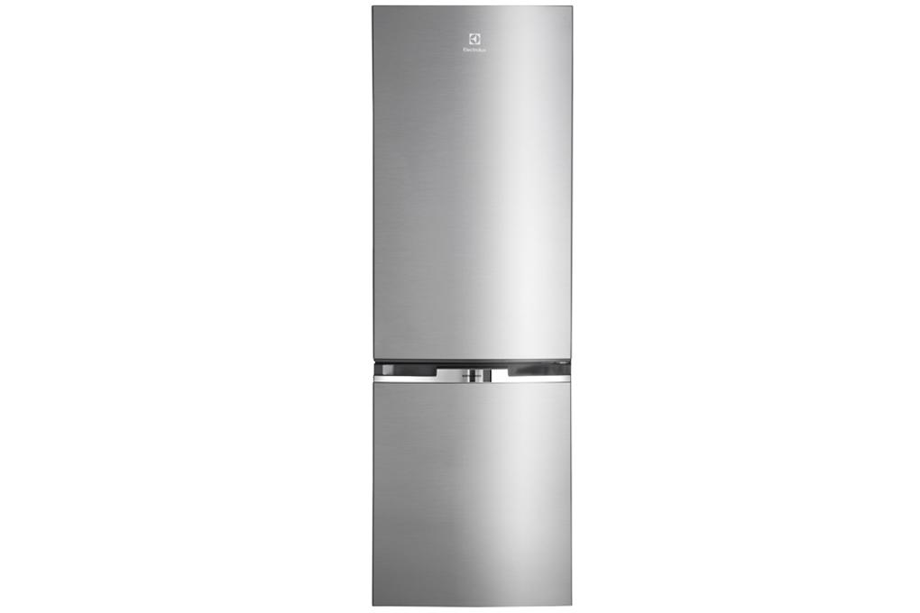 Tủ lạnh Electrolux EBB3500MG sở hữu vẻ bề ngoài có màu bạc
