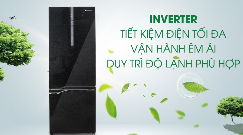 Tủ lạnh Panasonic Inverter 322 lít NR-BV368GKVN - Inverter