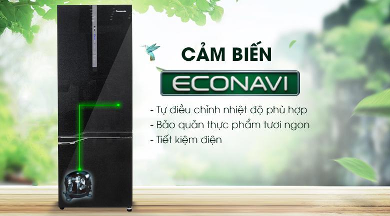 Econavi - Tủ lạnh Panasonic Inverter 322 lít NR-BV368GKVN