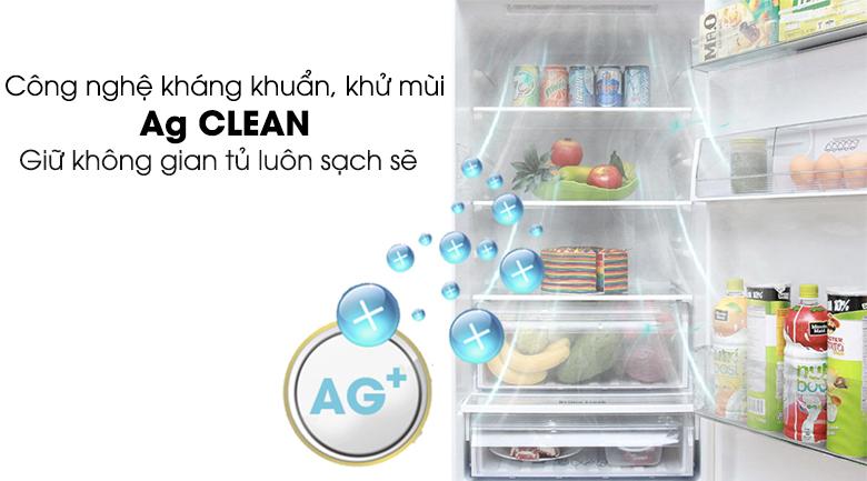 hệ thống kháng khuẩn khử mùi tinh thể bạc - Tủ lạnh Panasonic Inverter 322 lít NR-BV368GKVN