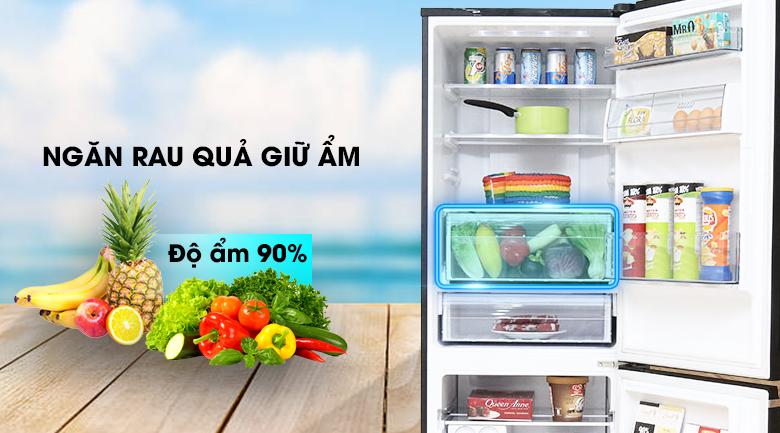 Ngăn rau củ - Tủ lạnh Panasonic Inverter 322 lít NR-BV368GKVN