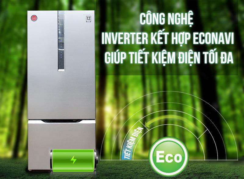 Công nghệ Inverter cùng Econavi tiết kiệm điện