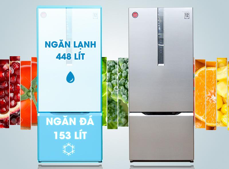 Tủ lạnh Panasonic NR-BY608XSVN có thiết kế độc đáo và sang trọng