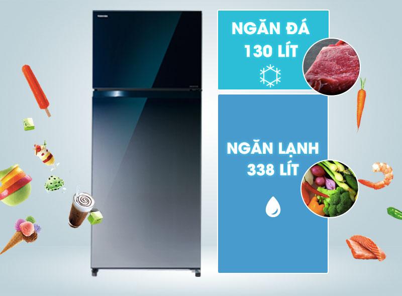 Tủ lạnh Toshiba GR-HG52VD2 GG